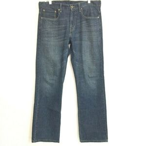 Levis 569 loose straight leg jeans 32(35) x 34